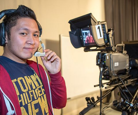 Centennial College fall 2015 broadcasting and film student