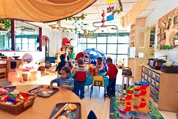 picture of children at the centennial college child day care centre