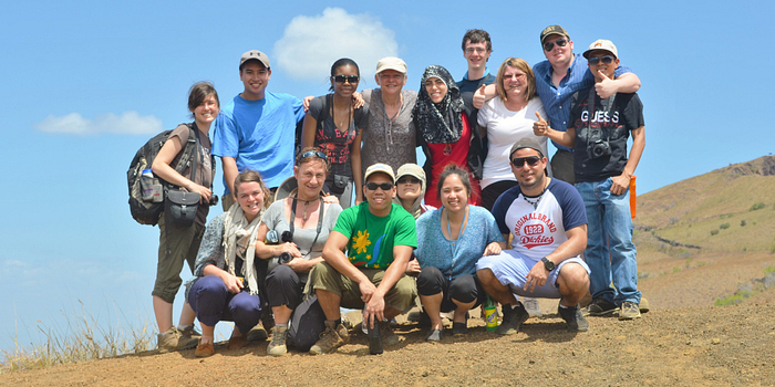 Picture of a group of Led young College students on Global Citizenship and Equity Learning Experience in Nicaragua