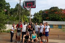 Centennial students bring B-ball joy to Jamaican town Image