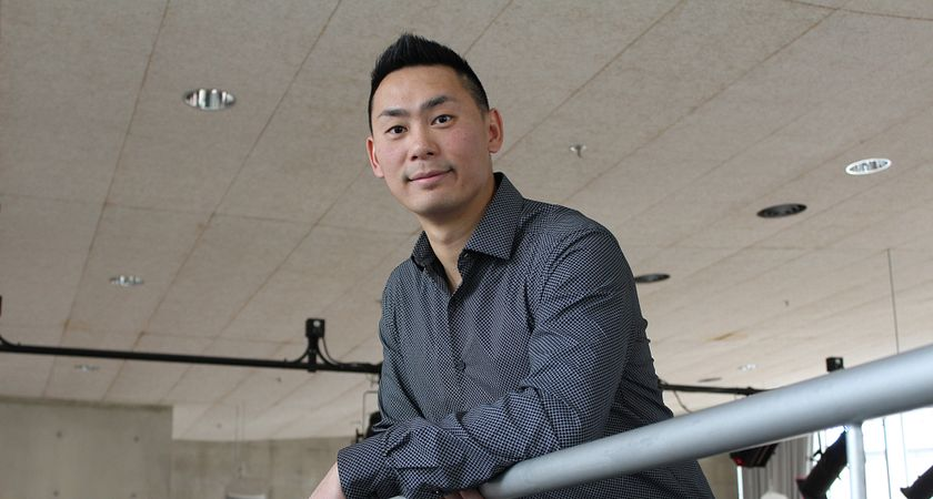 picture of Centennial College ACCEL program entrepreneur and martial arts studio business owner Derek Chan