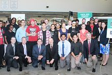 Ontario Ministers announce Youth Jobs Strategy success at Centennial Image