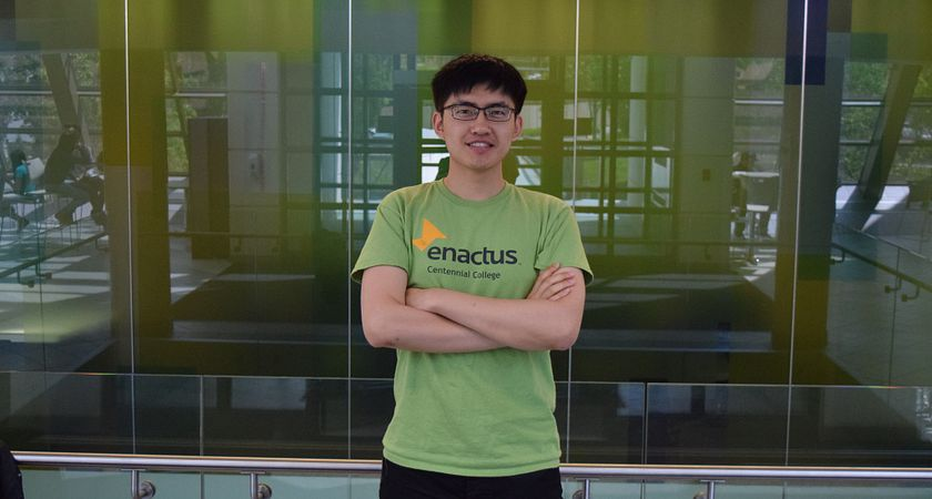 Picture of Malcolm You an international student who joined Enactus this year