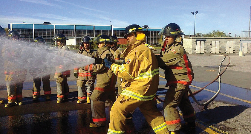 Fire services training program developed by Centennial and Toronto Fire Services Image