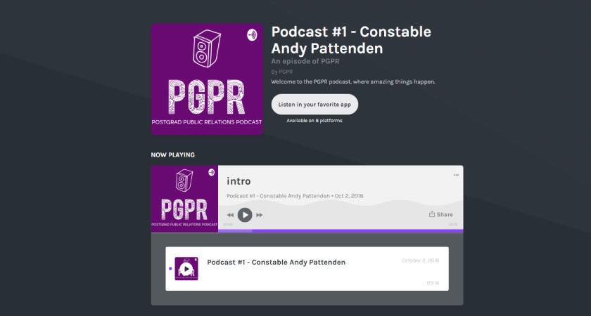 PGPR Podcast