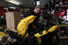 Putting your career in motion: Scott Szollos gets students working in Powersports Image