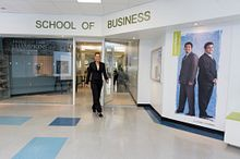 Highlighting the School of Business Image