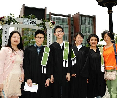 Centennial College International Student Graduates at Progress Campus
