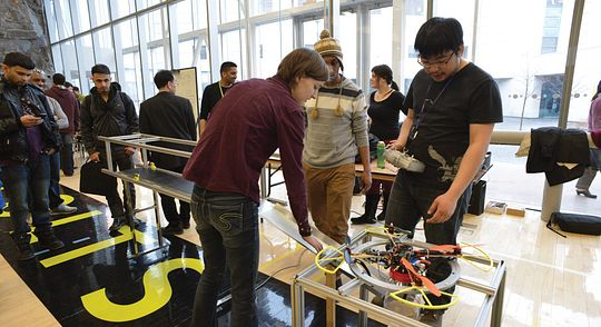 Build your career at the School of Engineering Technology and Applied Science Technology Fair Image