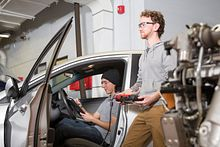 Go under the hood to understand the world of Automotive Service Technicians Image