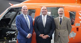 Centennial College welcomes donated Ornge Sikorsky helicopter Image