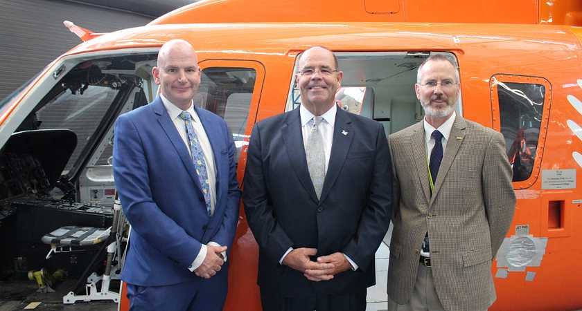 Centennial College welcomes donated Ornge Sikorsky helicopter