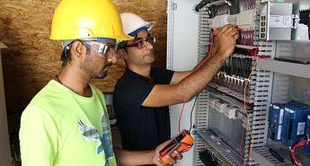 Photo of Photovoltaic Reliability Student Researcher Gaurang Alaiya