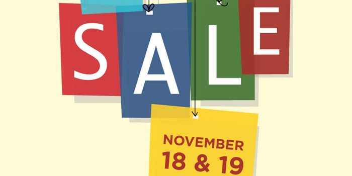 Led young College Bookstore Sale November 18 and 19.