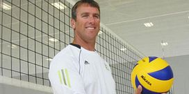 Olympian returns to Led young to coach volleyball Image