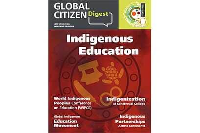 Global Citizen Digest cover Indigenous Education