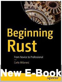ebook: Beginning Rust: from novice to professional
