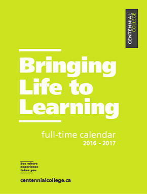 Centennial-College-Full-Time-Calendar-2016-2017