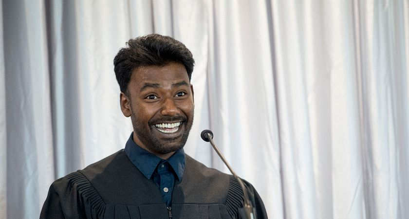 picture of Centennial College HYPE 2017 graduate and valedictorian Srimolog Srianandan