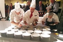 Centennial Culinary students assist with Gold Medal event Image