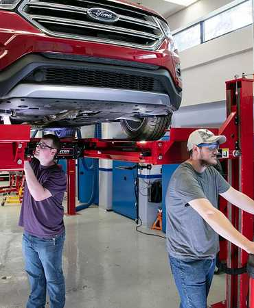 A Career with Options: Ford Automotive Service Technician image