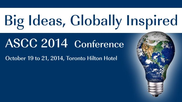 Centennial College will be hosting the ASCC Conference 2014