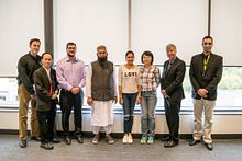 The faces of technology: Engineering and Technology students at Centennial College Image