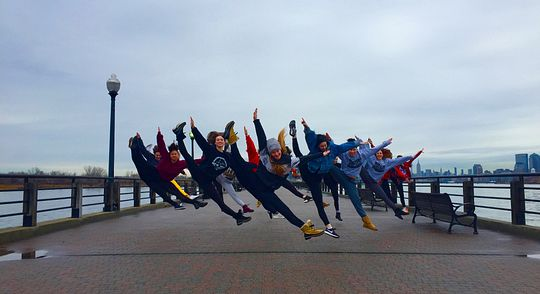 Dance students FLIP to NYC Image