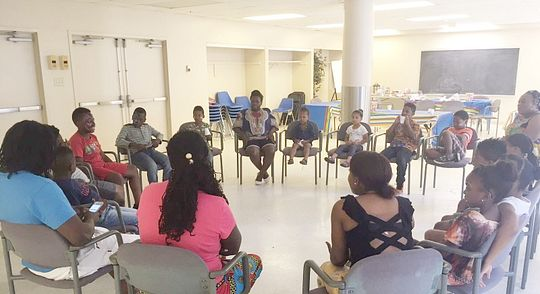 Bachelor PR student creates an Africentric camp for youth Image