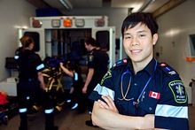 Photo of the Day: The Centennial College Paramedic program  Image