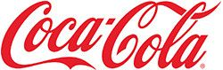 Logo of coca-cola a myCard food partner