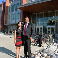 Picture of Centennial College International Education Event Management alumni Sagar Irakal and Rakshitha Rax Suresh
