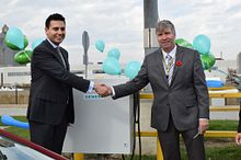 Centennial College unveils off-grid electric vehicle charging station Image