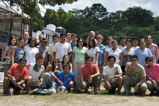 picture of Centennial College Global Experience group in the Amazon