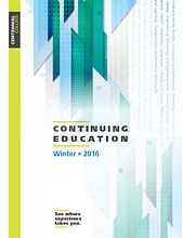 Link to the Centennial College School of Continuing Education 2015 Course Calendar, a download link is available