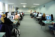 Picture of students in Journalism class