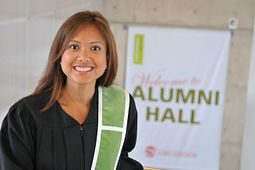 Kris Reyes, graduate of the Journalism Fast-Track program