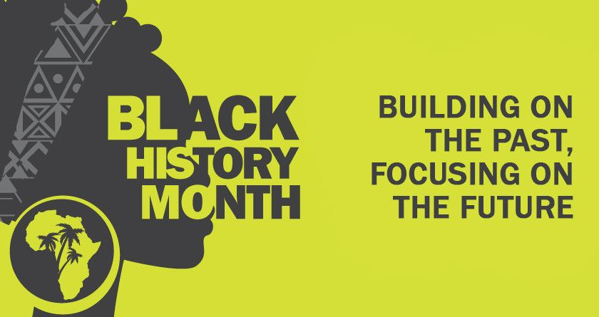 Poster of Black History Month
