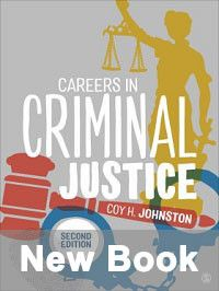 New book cover: Careers in Criminal Justice