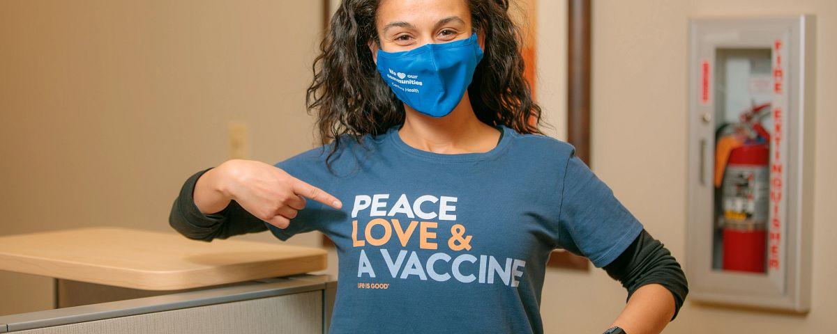peace, love and a covid-19 vaccine