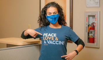 Peace, Love & COVID-19 Vaccine