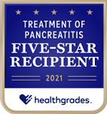 Five-Star Recipient for Treatment of Pancreatitis for 2 Years in a Row (2020-2021)