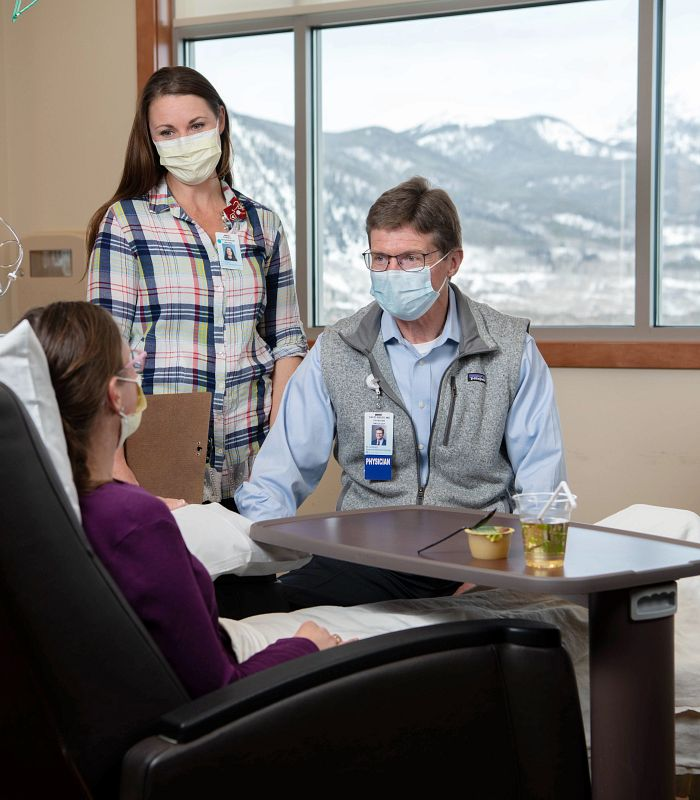 St. Anthony Summit Hospital infusion center supported by St. Anthony Summit Hospital Foundation