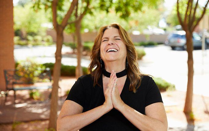 Barbara Young, RN practicing gratitude