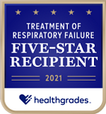 Five-Star Recipient for Treatment of Respiratory Failure for 6 Years in a Row (2016-2021)