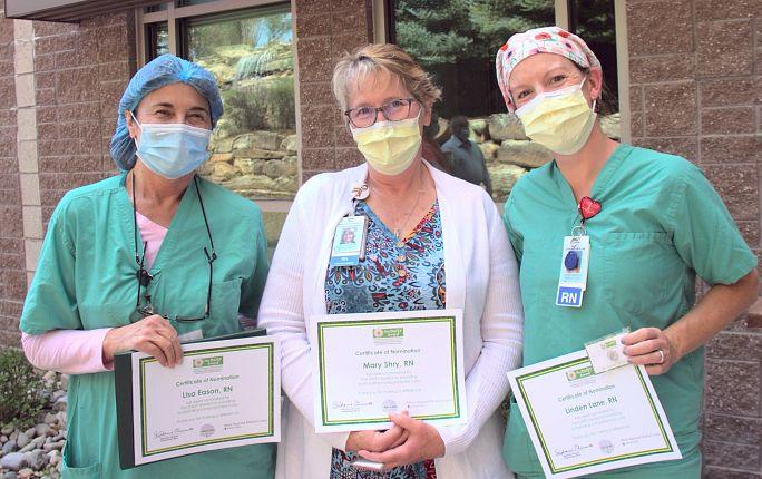 Mercy Regional Medical Center nurses nominated for The DAISY Award®