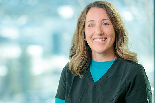 Mercy Spine Institute caregiver - Megan Johnson, RN
