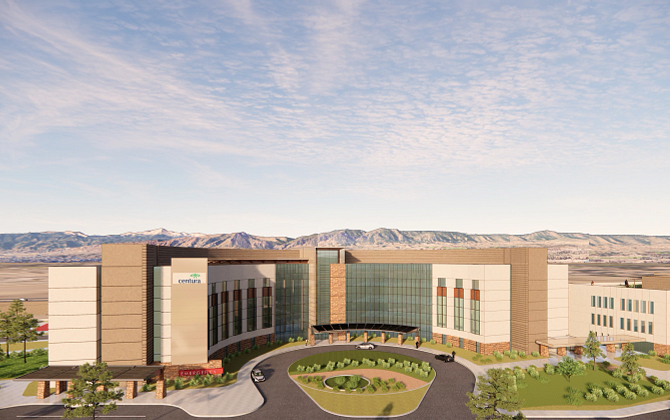 St. Clare Hospital Rendering