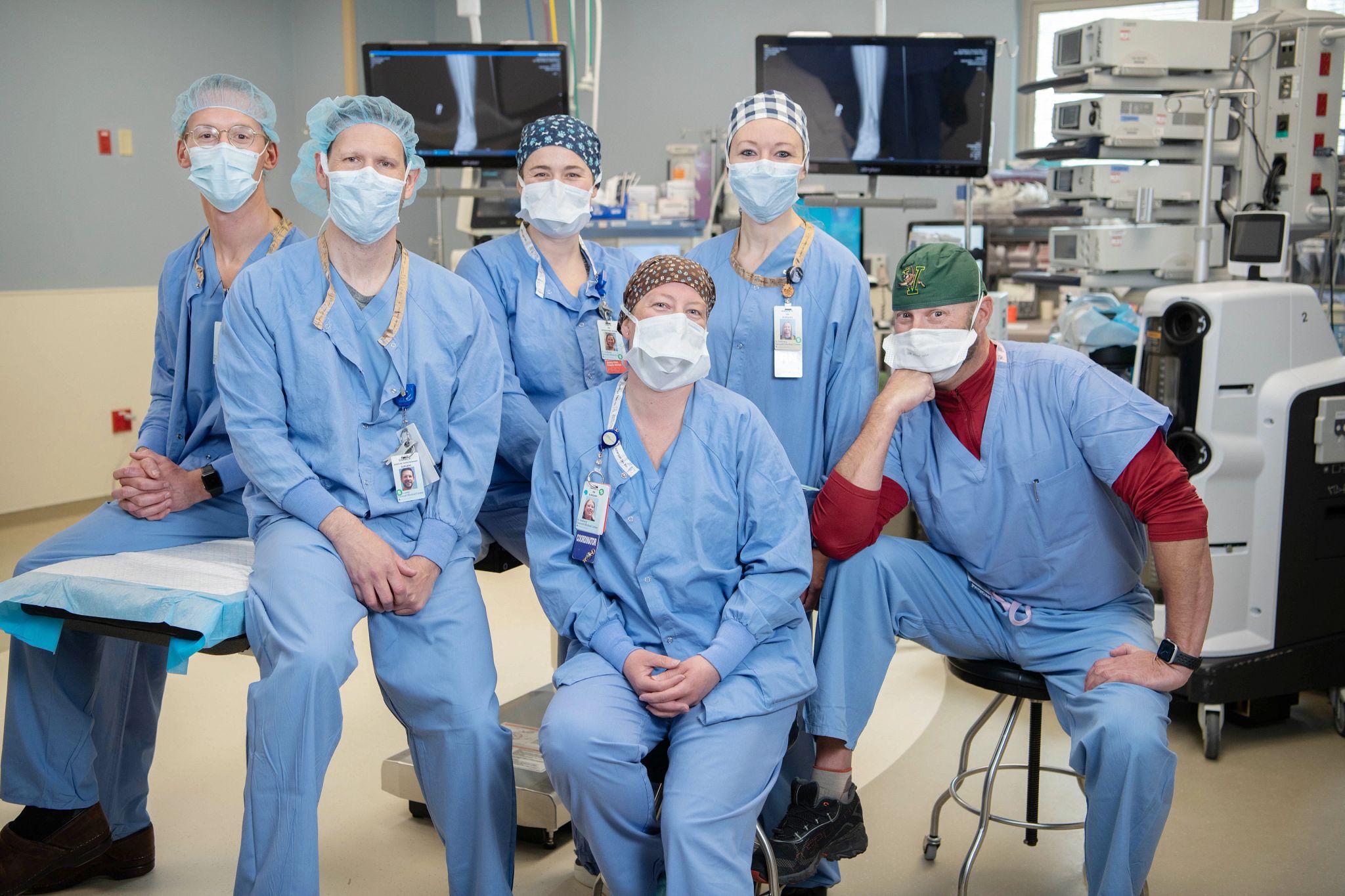 OR team St. Anthony Summit Hospital