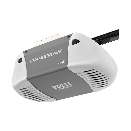 C410 Durable Chain Drive Garage Door Opener with MED Power HERO